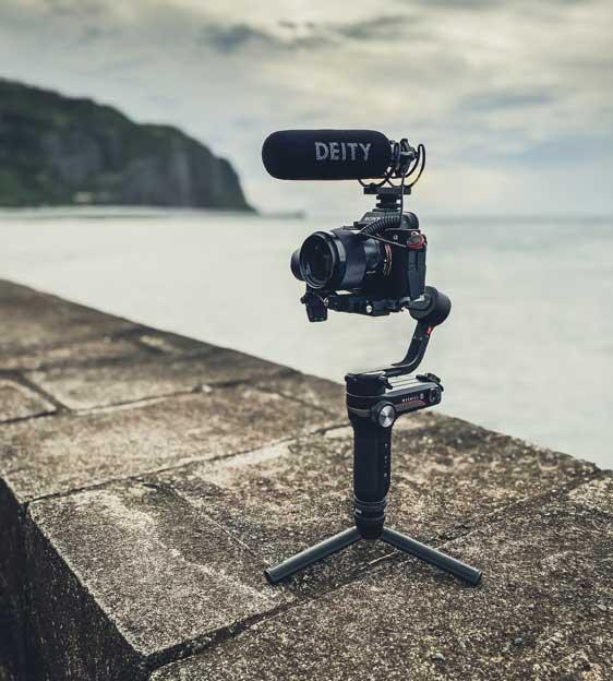 Appareil photo et équipement complet pour faire une vidéo