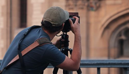 un photographe à Liège